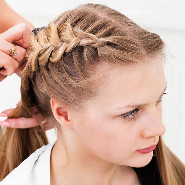 braids for thin short hair | hair styling 31 Cute Braided ...