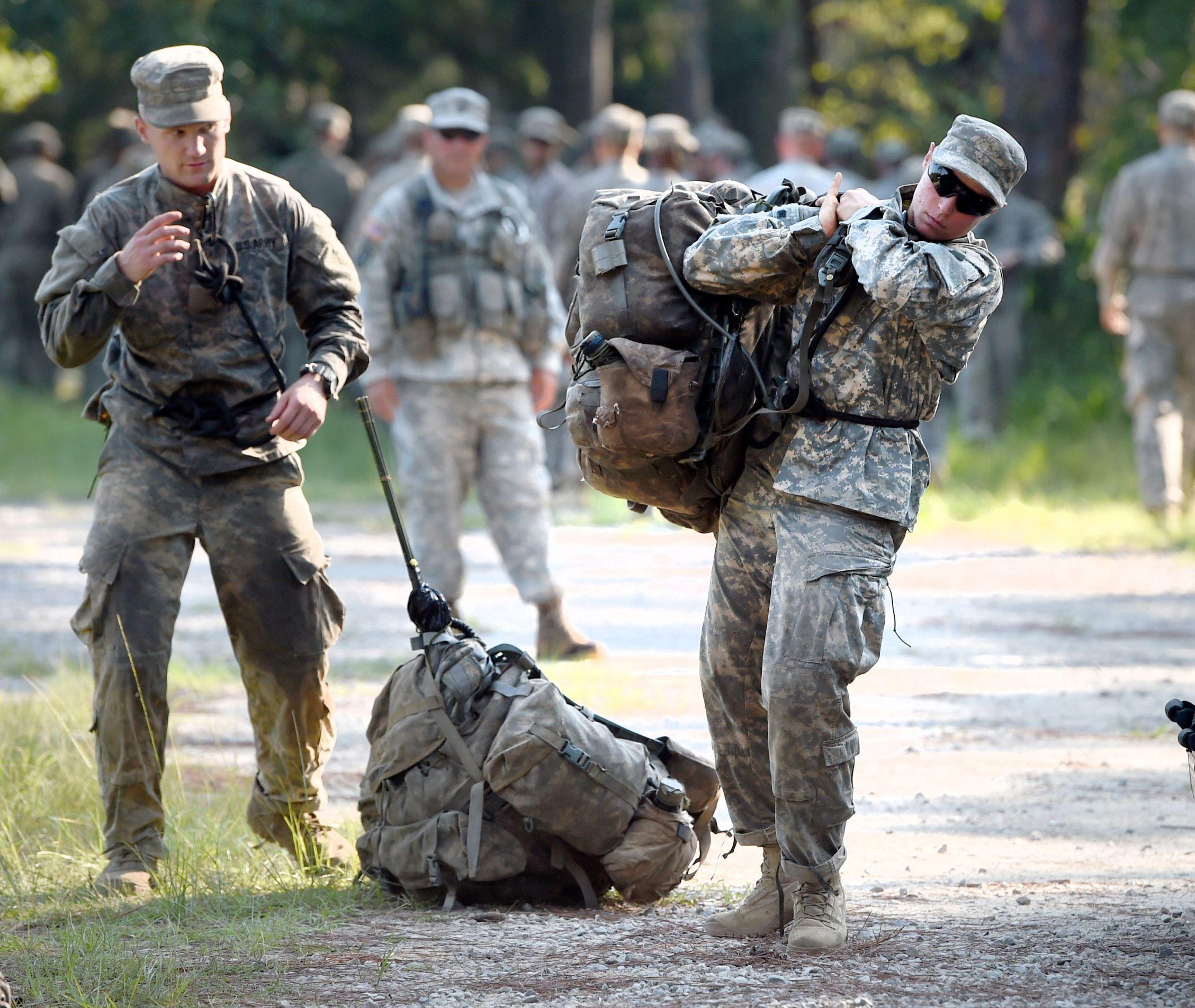 Female Army Rangers Nick Tomecek/Northwest Florida Daily