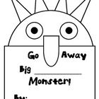 """This is a cute little book, that your students will love to make. This activity is based on the book """"Go Away Big Green Monster"""" by Ed Emberly. Stu... $2.50"""