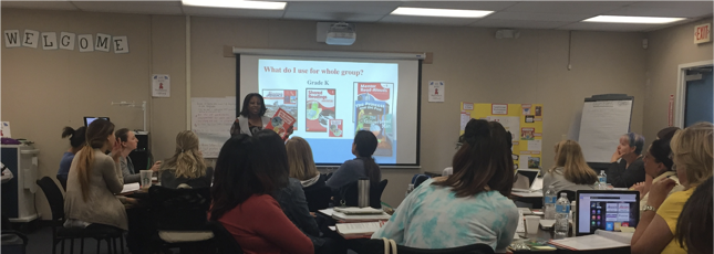 Great Training With Engaging K 1 Teachers In Corona Norco Unified