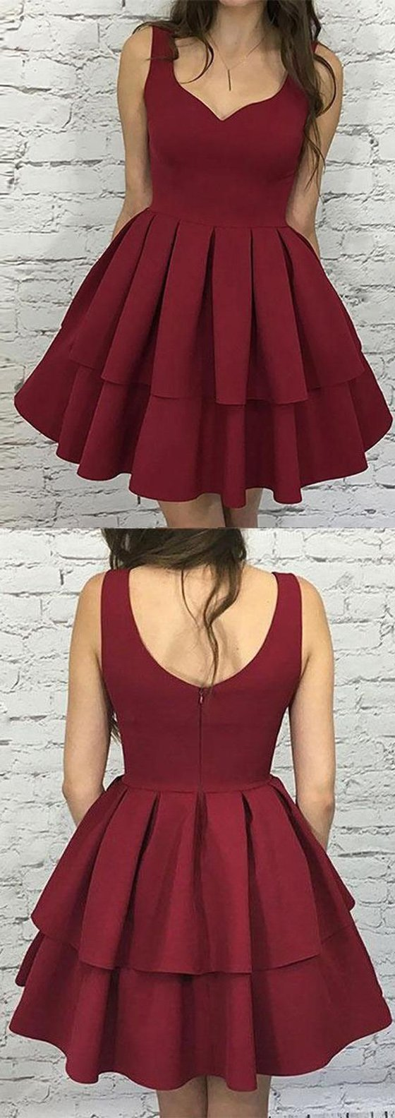 Simple lovely homecoming dresses cheap homecoming dresses short