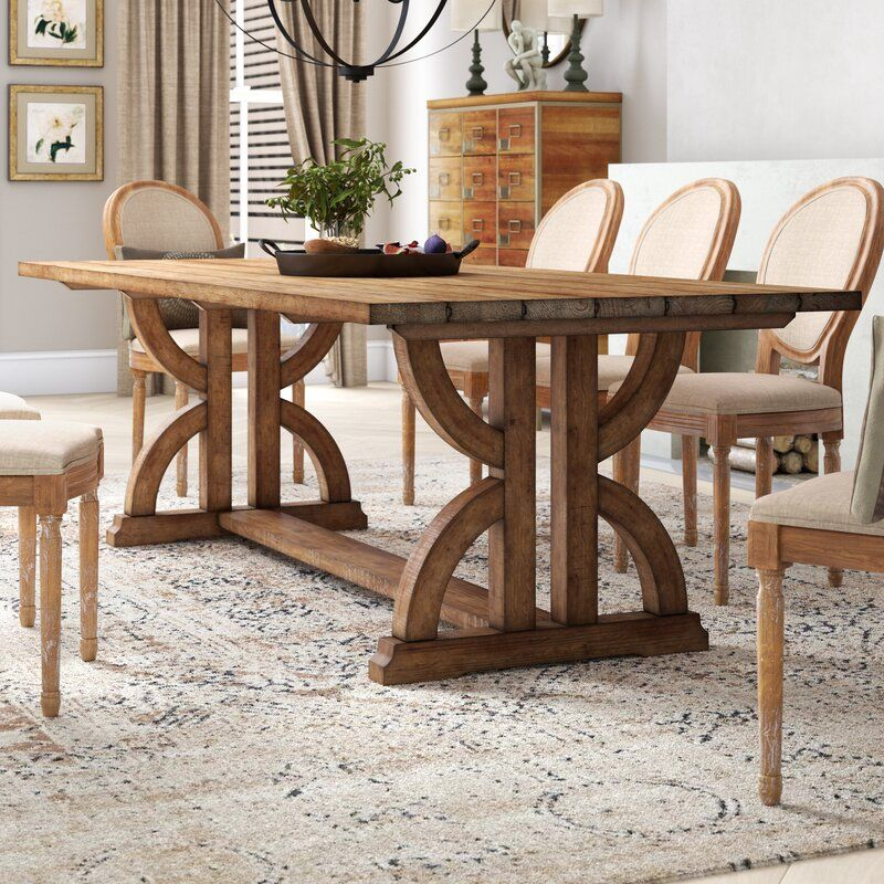 Lark Manor Valois Dining Table Reviews Wayfair Wood Dining