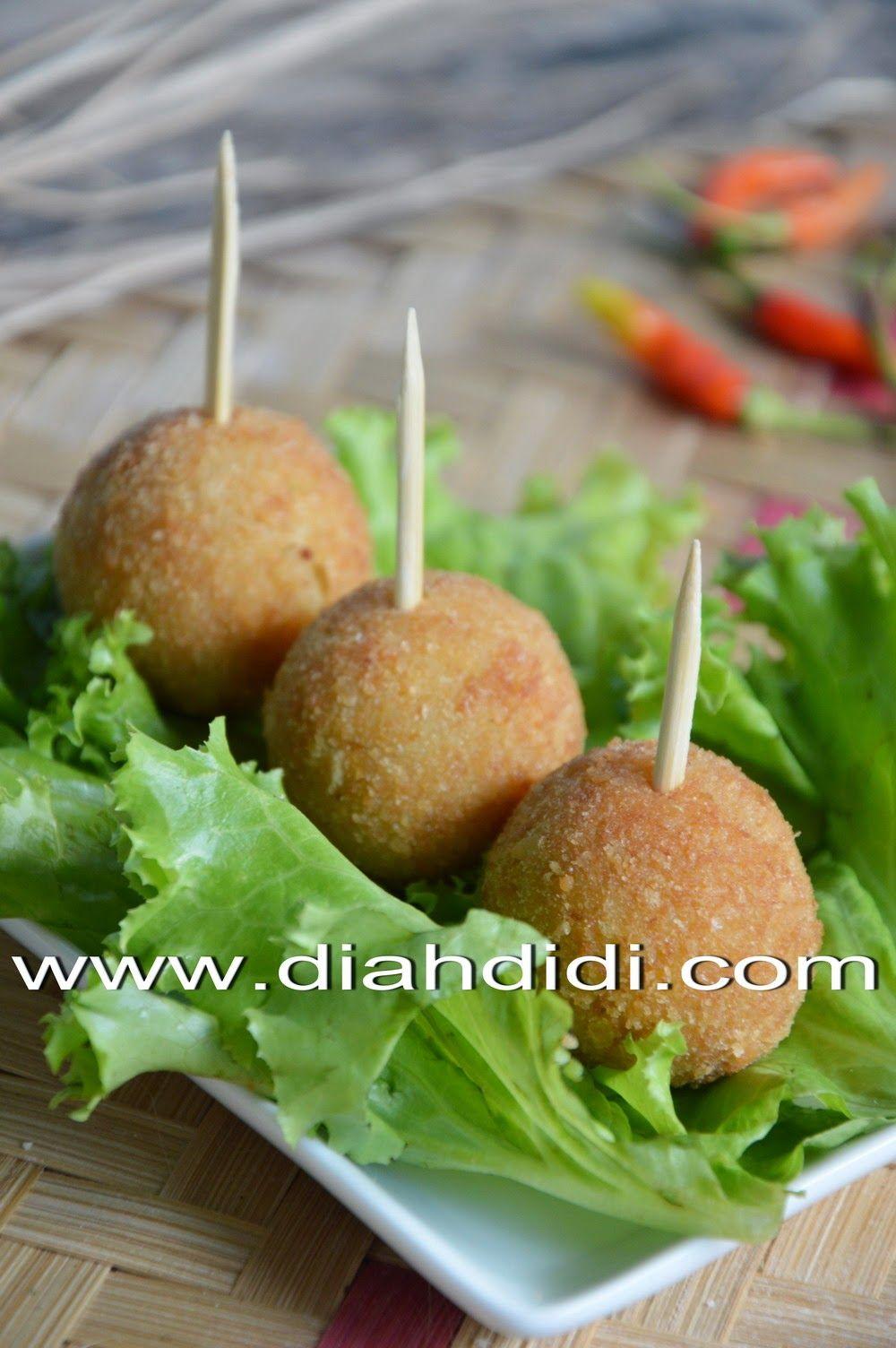 Resep Bitterballen Lembyutttt Resep Masakan Resep Makanan Bayi Masakan