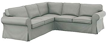 Amazon Com The Thick Cotton Ikea Ektorp 2 2 Sofa Cover Replacement Is Custom Made For Ikea Ektorp Corner Or Sectional Sof Sectional Sofa Slipcovers Sofa Covers