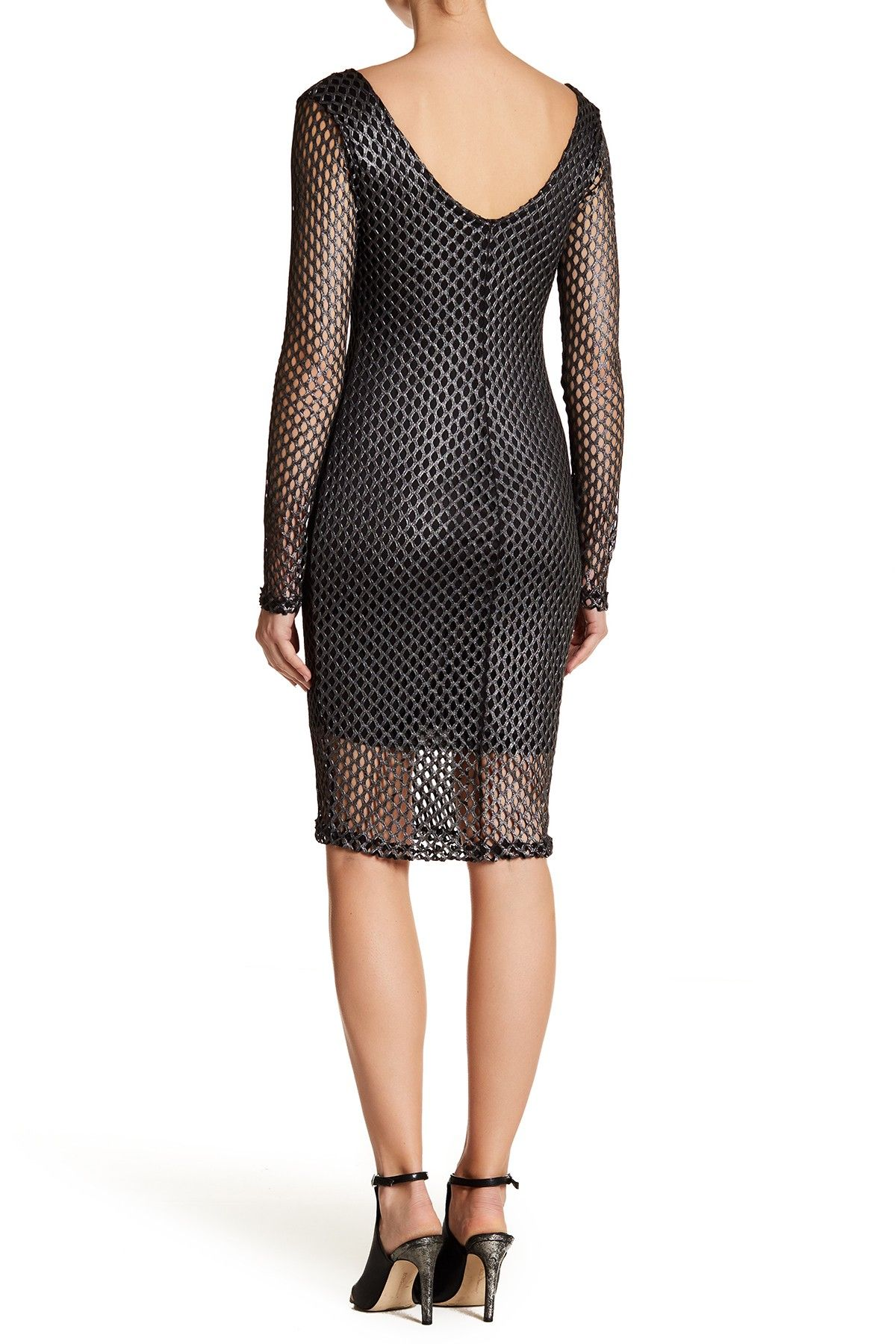 Classic Cut Mesh Dress by Sentimental on @HauteLook