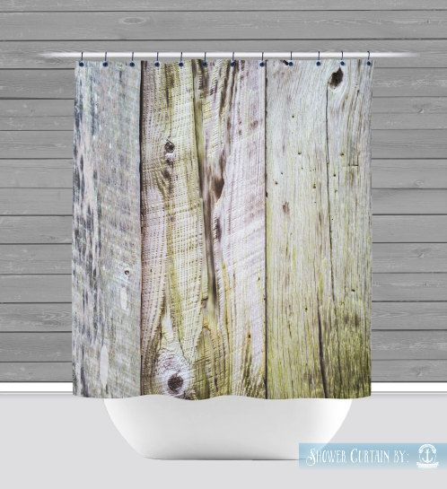 Shower Curtain And More Barnwood Rustic Americana Farmhouse