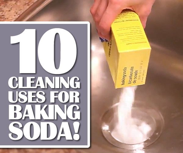 Top 10 cleaning uses for baking soda by clean my space soda spaces and baking soda - Things never clean baking soda ...