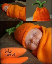 Baby wearing a carrot costume & Baby wearing a carrot costume | Babies wearing costumes | Pinterest