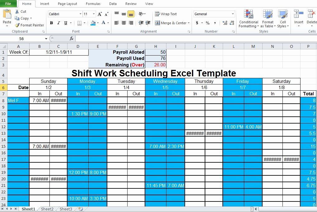 Employee Shift Schedule Template Excel Unique Employee Shift Schedule Generator Excel Template Excel Tmp Shift Schedule Schedule Template Excel Template
