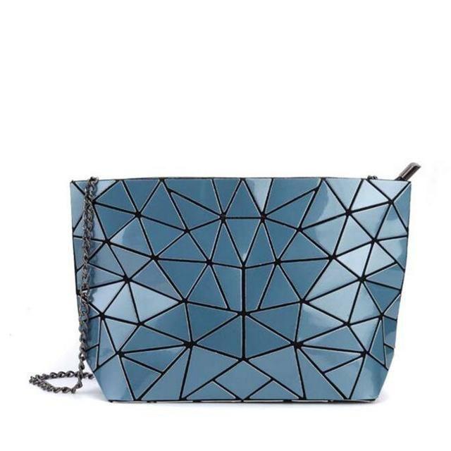 Women Clutch Laser BAOBAO Bags Casual Tote Fashion Chains Messenger  Shoulder Bag Bao Bao Sac A Main Bags Female e57d2e666f600