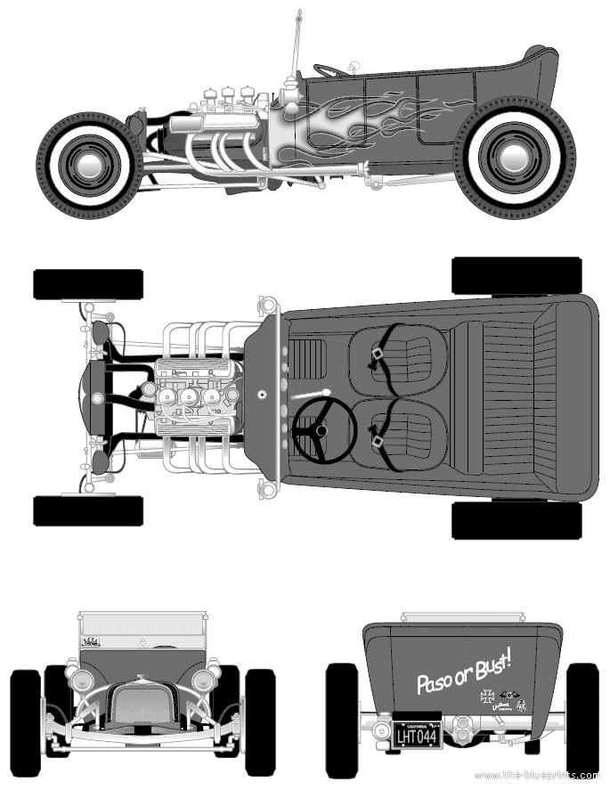 Old Fashioned Old Car Blueprints Inspiration - Schematic Diagram ...