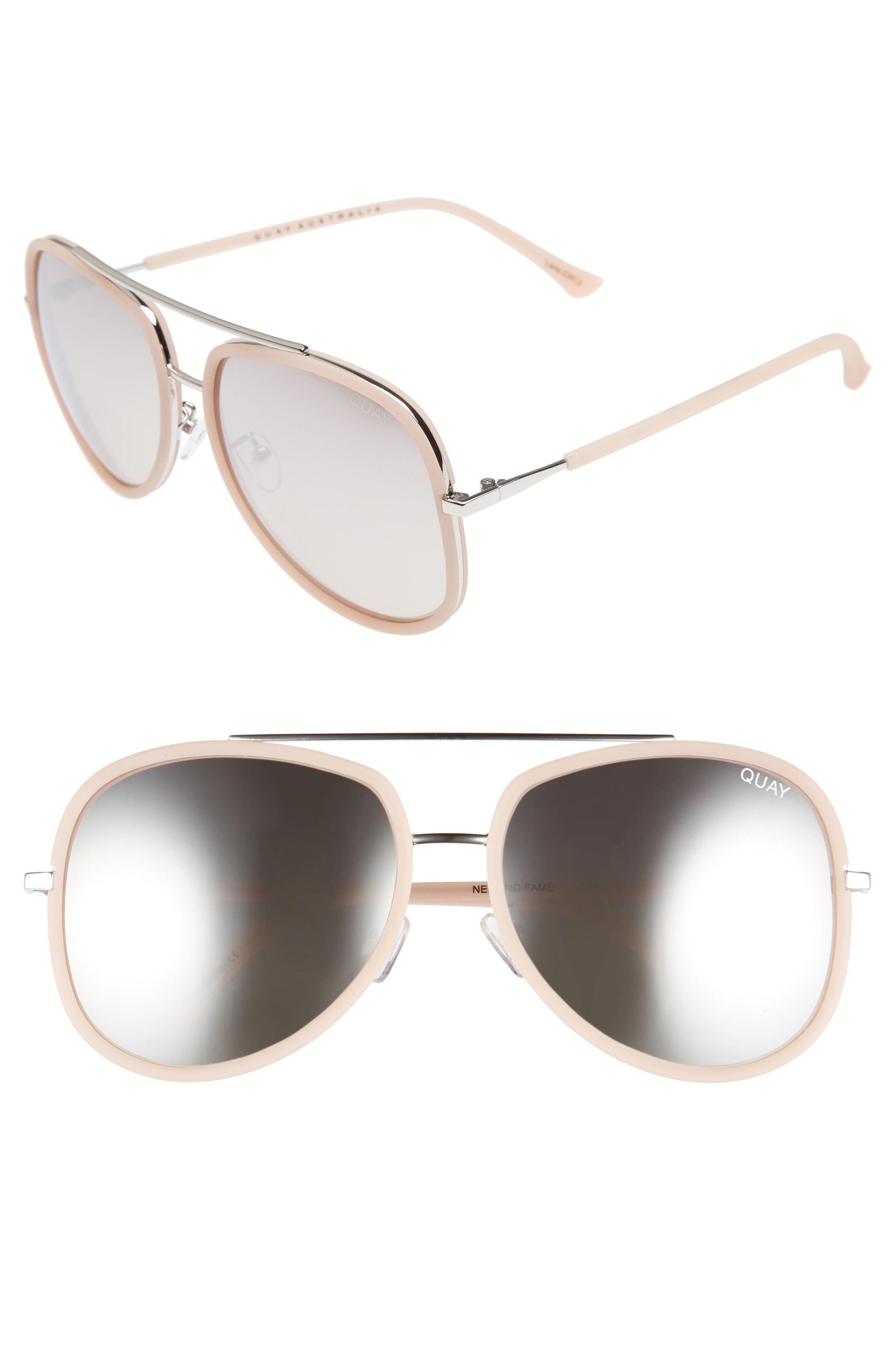 832e591cf4a Quay mirrored Aviator Sunglasses.