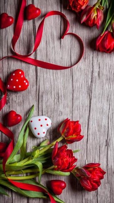 Valentines Day Bargain Flowers Wallpaper Iphone