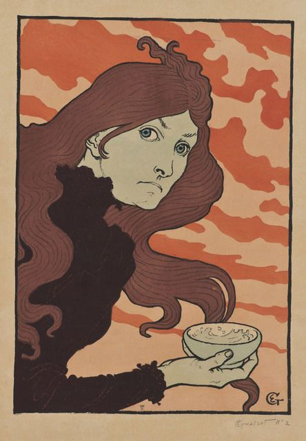 Eugène Grasset, La vitrioleuse [The Acid Thrower], 1894