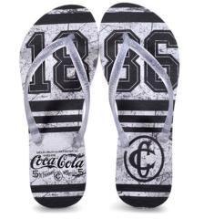 0e278f995 Chinelo Feminino Coca-cola Shoes Ccl2361 Branco/cristal - Chinelo Feminino  Coca-cola