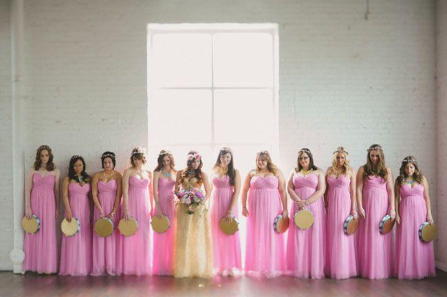 1970\'s LoveFest Wedding: Carissa + Adam – Part 1   Vestidos dama ...