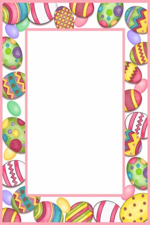 All you Need to Make Your Own Easter Cards & Page Borders ...