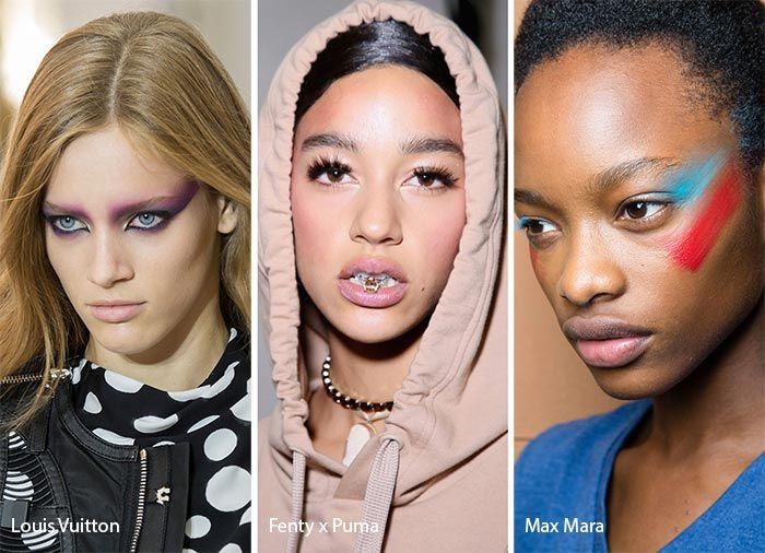 Spring/ Summer 2017 Makeup Trends   80s makeup and Makeup trends