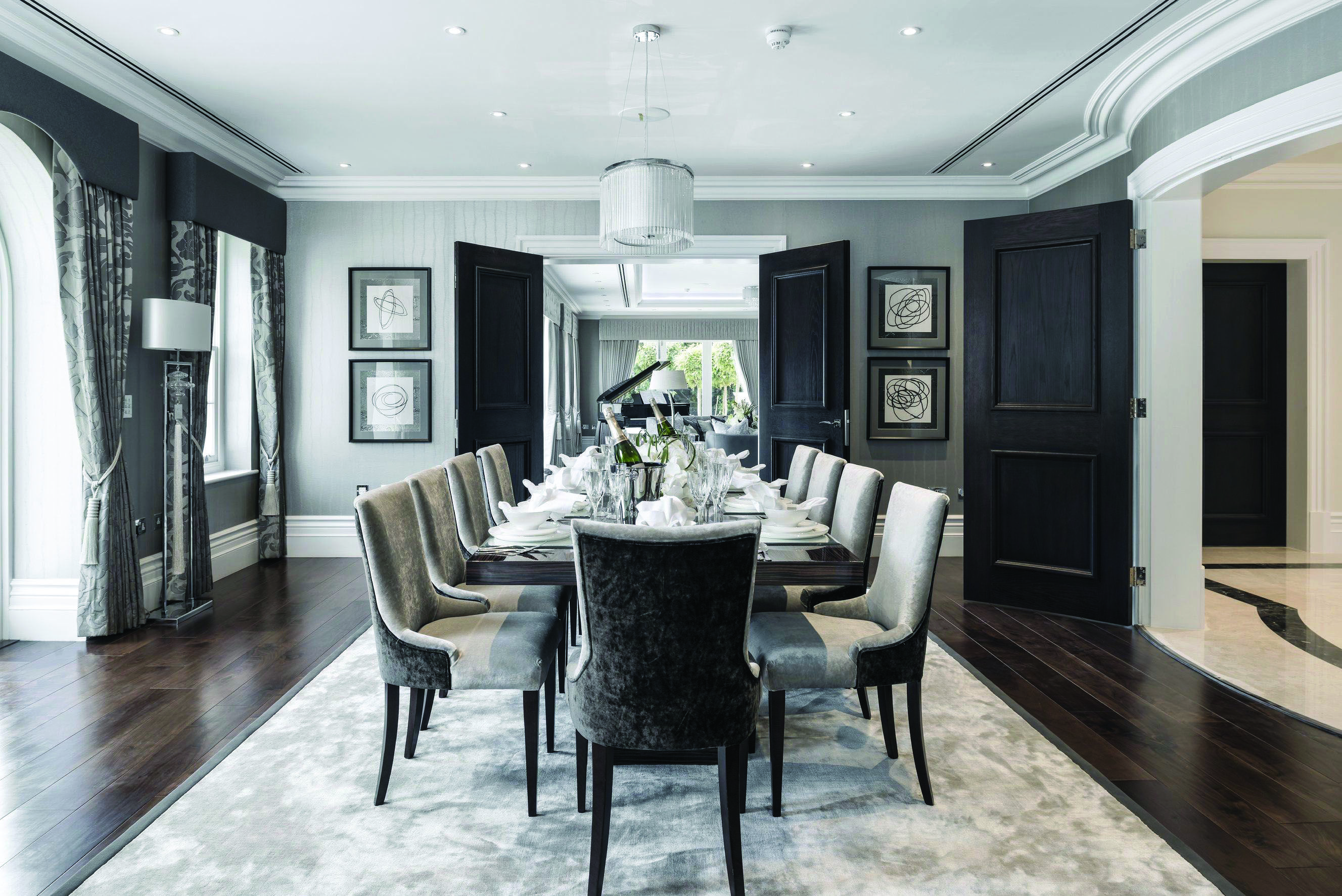 Just How 10 Top Professionals Do A Formal Dining Room Dova Home