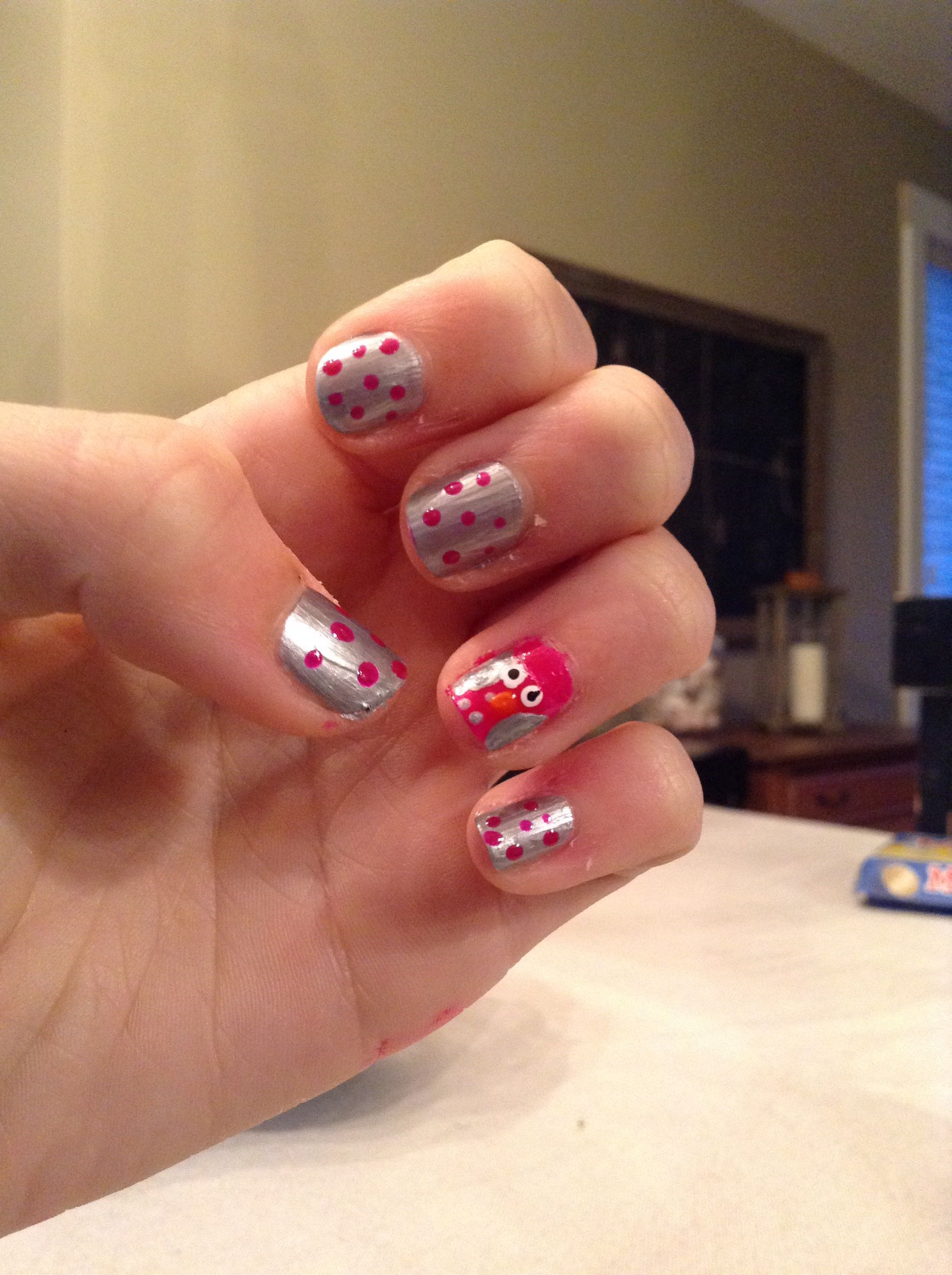 Easy nail design with the klutz nail studio Love these