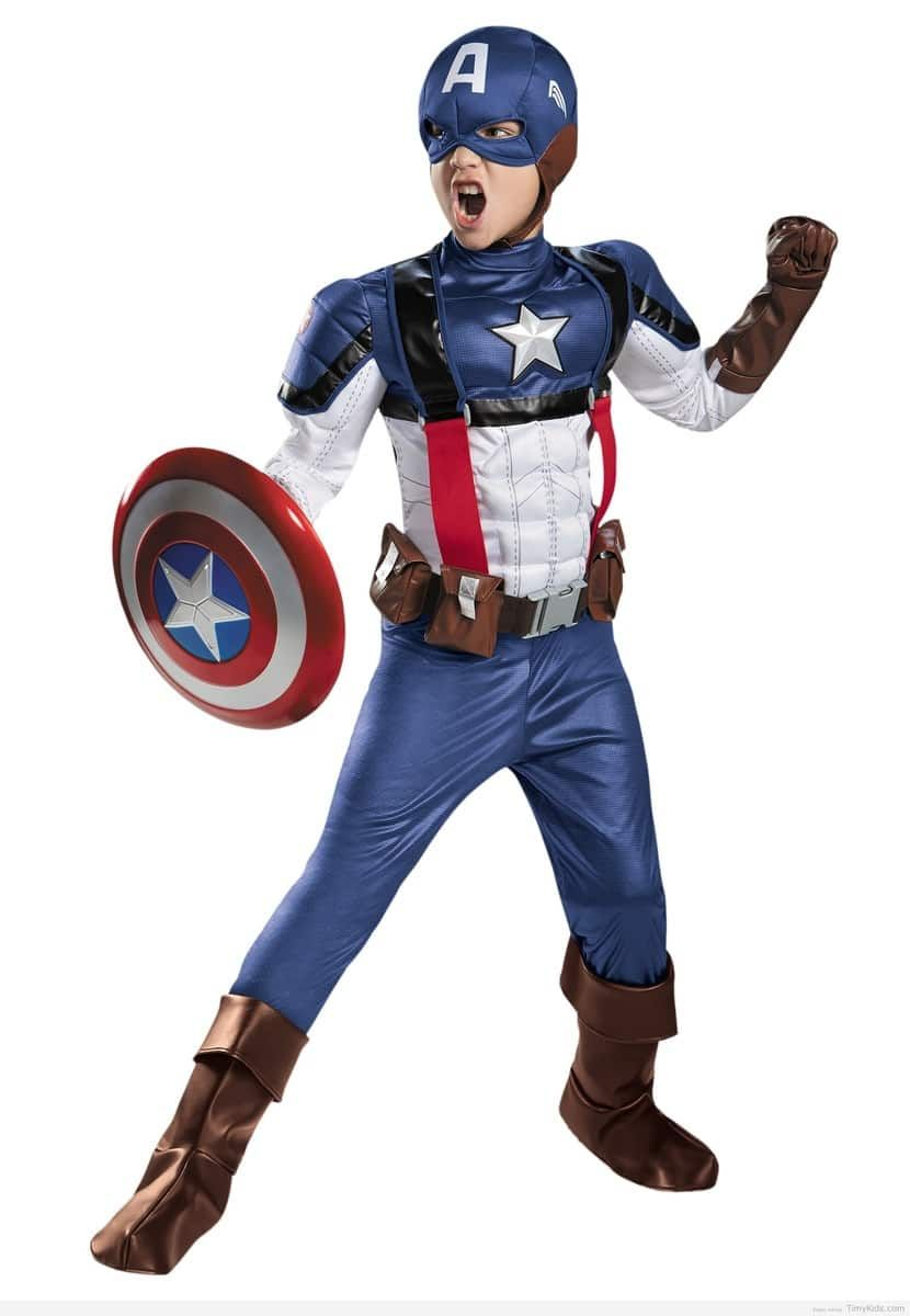 The Winter Soldier Marvel Retro Captain America Prestige Child Costume  sc 1 st  Pinterest & http://timykids.com/captain-america-halloween-costumes-for-kids.html ...
