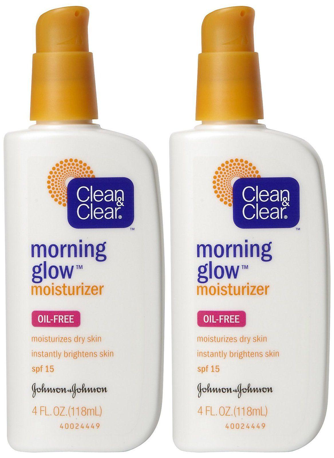 Clean & Clear Morning Glow Moisturizer  Produk jerawat, Perawatan
