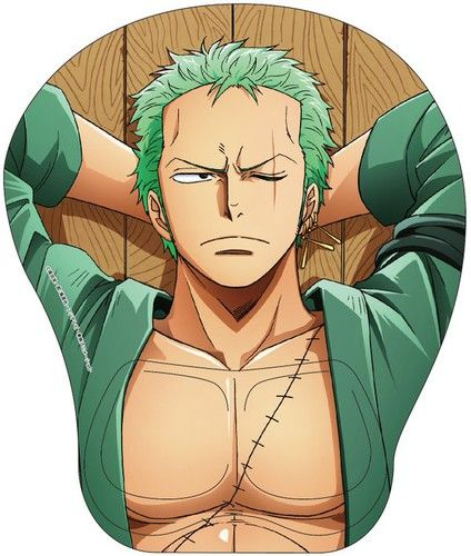 One Piece's New Fanservice Mousepads (2016) - Zoro