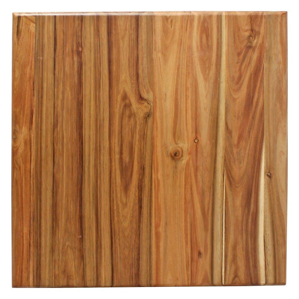 TAPA DE ACACIA Tapa de madera de acacia natural con acabado en barniz |  Madera de acacia, Madera, De madera