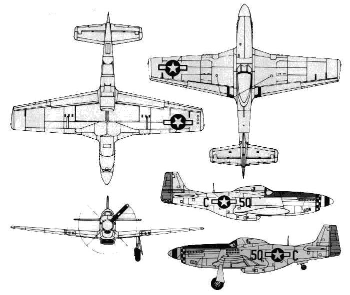 P 51 mustang blueprint planes pinterest mustang aircraft p 51 mustang blueprint malvernweather Gallery