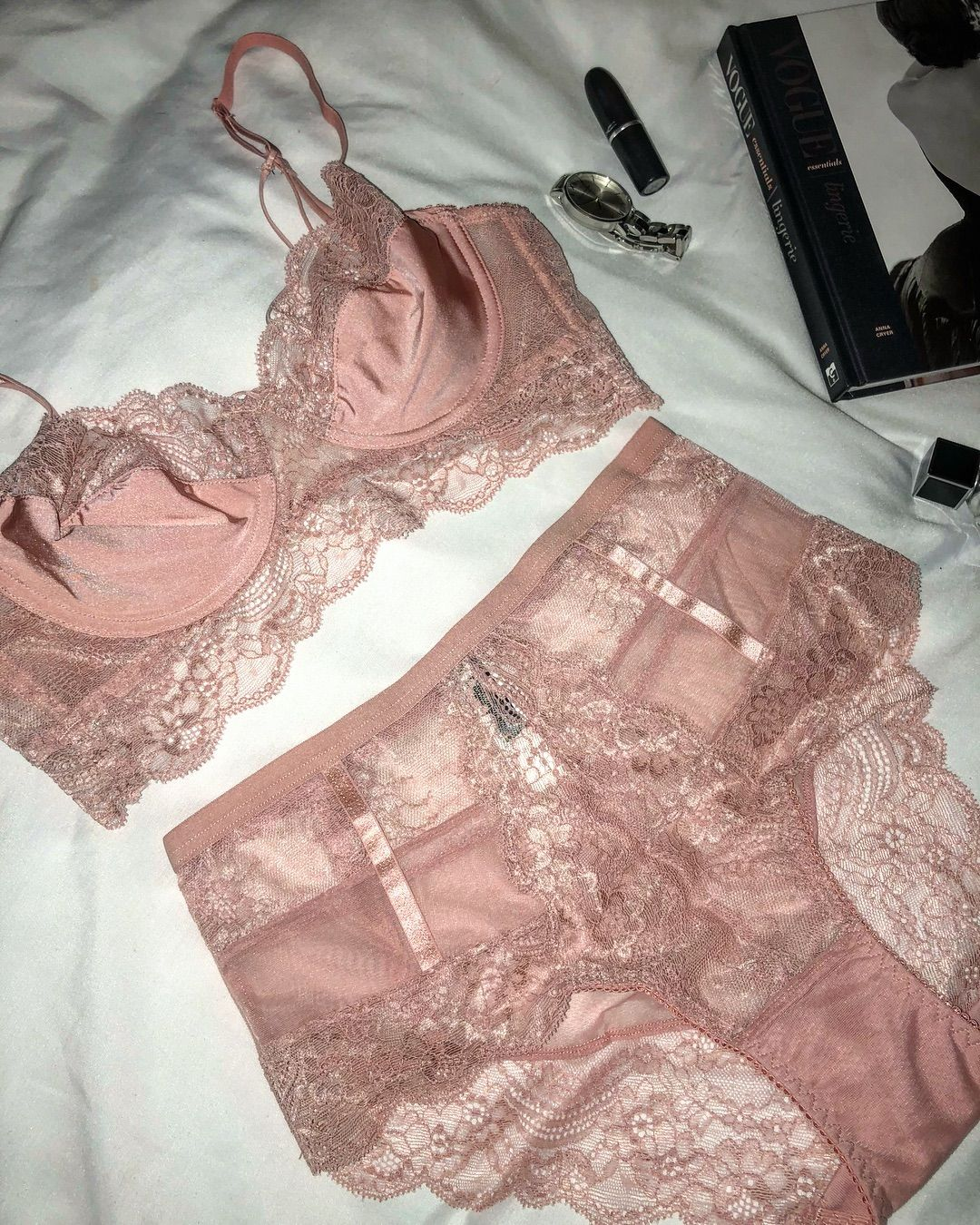41d234a5952f Pink to make the boys wink @milacouturelingerie #bra #bralette #lingerie  #thong