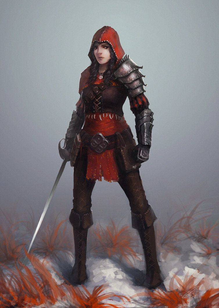 Red Riding Hood by dr-grizscald #fighter #swashbuckler ...