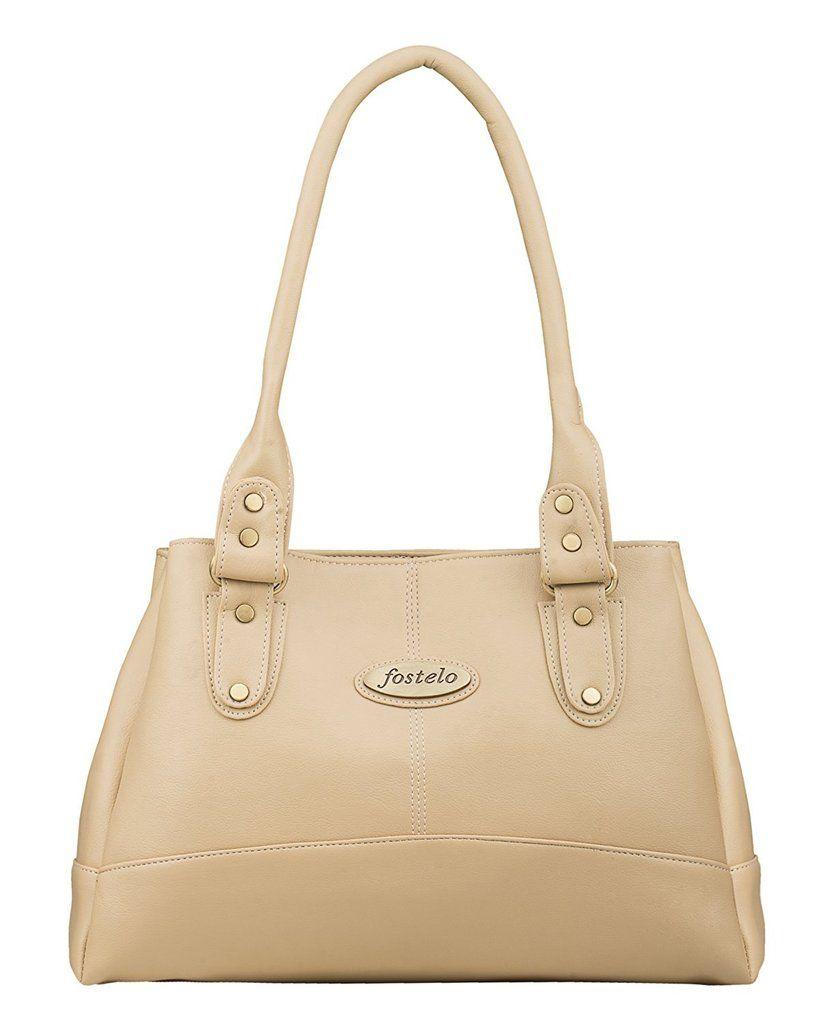 310c1df9a Women's Elite Handbag (Beige) | #ShadowSecuritronics #India ...