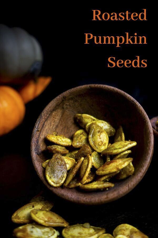 Curry Roasted Pumpkin Seed #roastedpumpkinseeds This Curry Roasted Pumpkin Seed recipe is super easy, perfectly crispy to make and packed full of the most amazing curry flavor! Roasted in a mixture of coconut oil, curry powder and garam masala, the flavors are slightly sweet, savory and just absolutely incredible - you NEED these fresh pumpkin seeds in your life! These curry pumpkin seeds are packed full of flavor and also a great healthy snack. #wenthere8this #pumpkinseeds #roastedpumpkinseeds #roastedpumpkinseeds