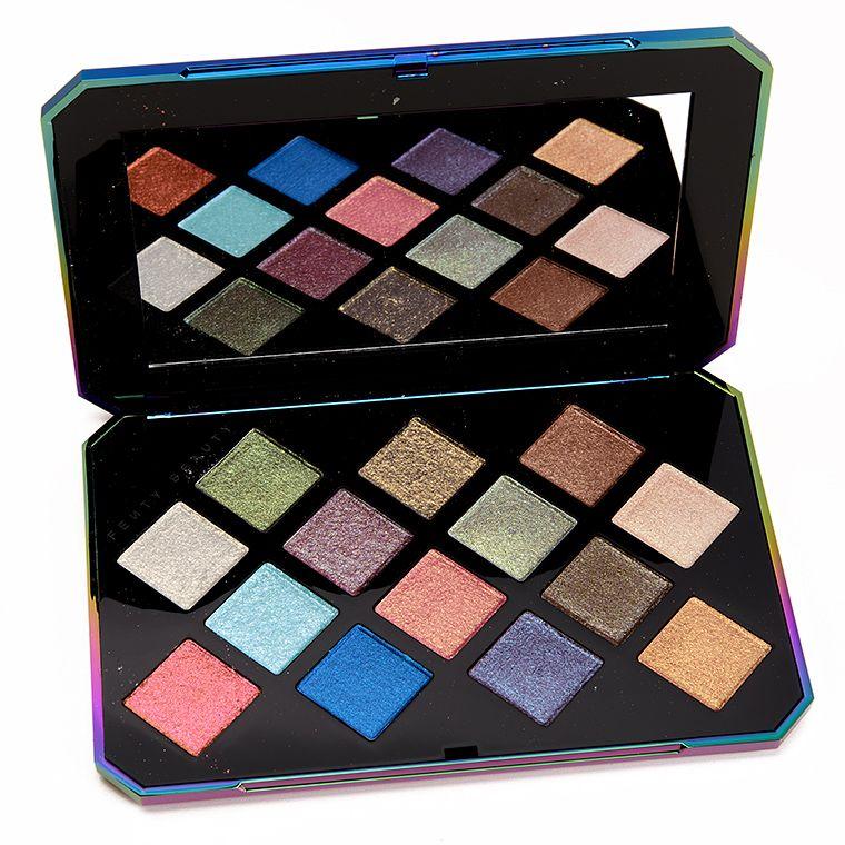 Fenty Beauty Galaxy Eyeshadow Palette Review, Photos