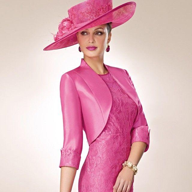 Zeila Pink Lace Dress and Bolero | Zeila at Jonzara.co.uk | Pinterest