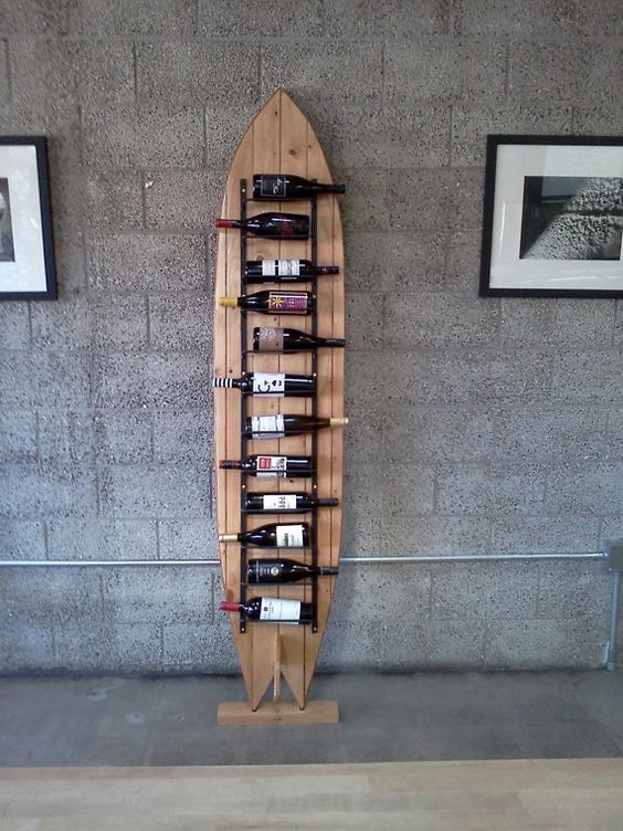 16 Surfboard-themed Home Decoration Ideas Surfd Surf decor in