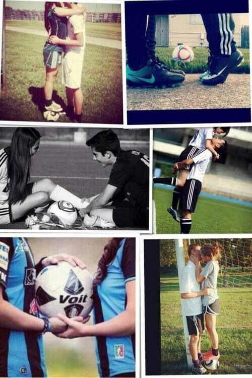 Soccer Casal Tumblr Pinterest Futebol Casal E Futebol Feminino