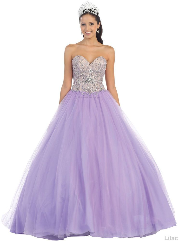 SALE ! QUINCEANERA PROM SWEET 16 BALL GOWN PAGEANT MASQUERADE CINDERELLA DRESSES  | eBay