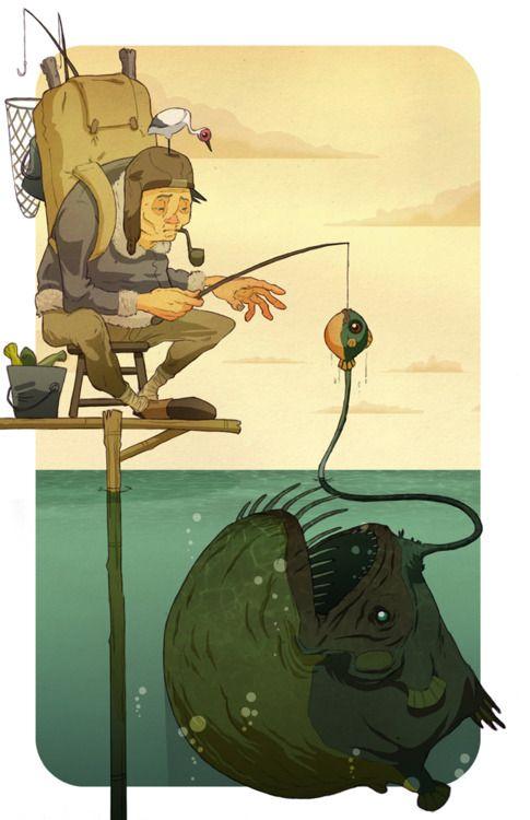 fishing #illustration