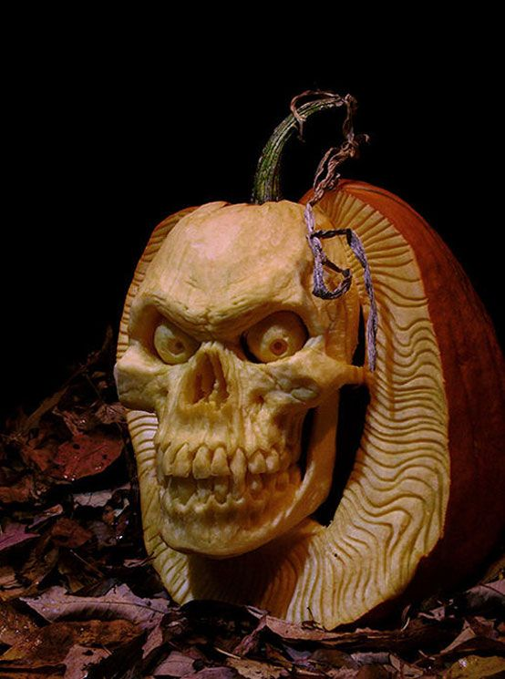 Awesome Halloween Pumpkins Part - 20: 125 Halloween Pumpkin Carving Ideas