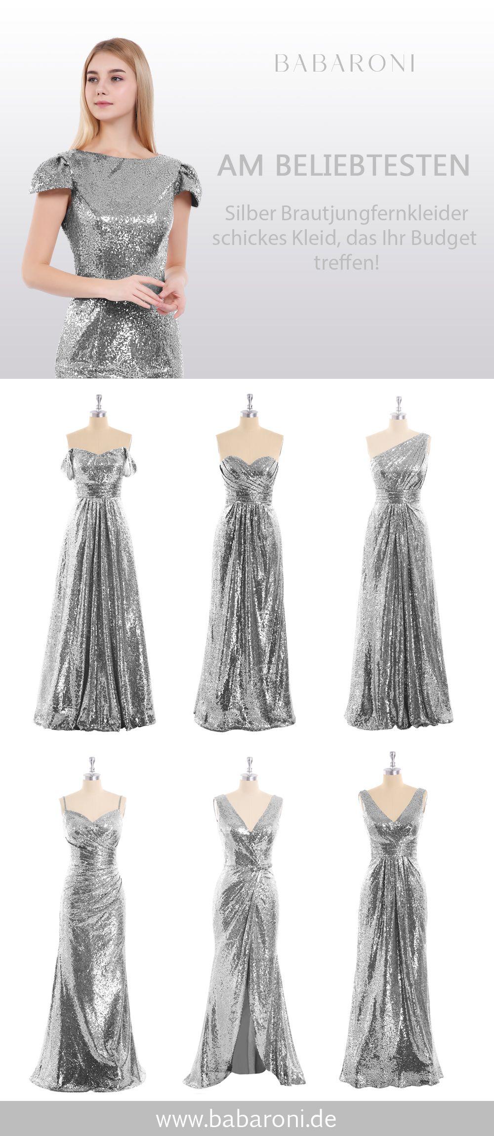 Brautjungfernkleider  Brautjungfernkleider, Pailletten kleid