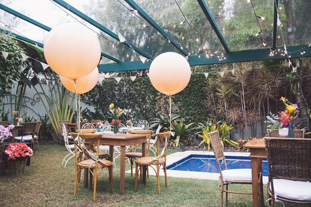 Rhayssa + Kael - Casamento no Jardim de Casa - Noivinhas de Luxo