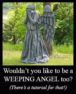 How to Make Weeping Angel Costumes  Costuming Tutorial ...