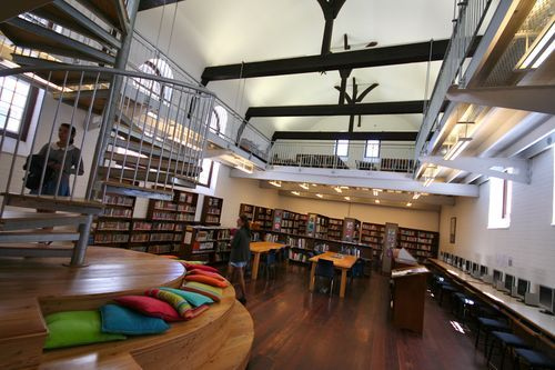 Architecture Design Education st cyprian's library - school architecture | modern school