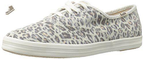9ff25e1b65689 Keds Women's Champion Jersey Fashion Sneaker, Leopard, 9 M US - Keds ...