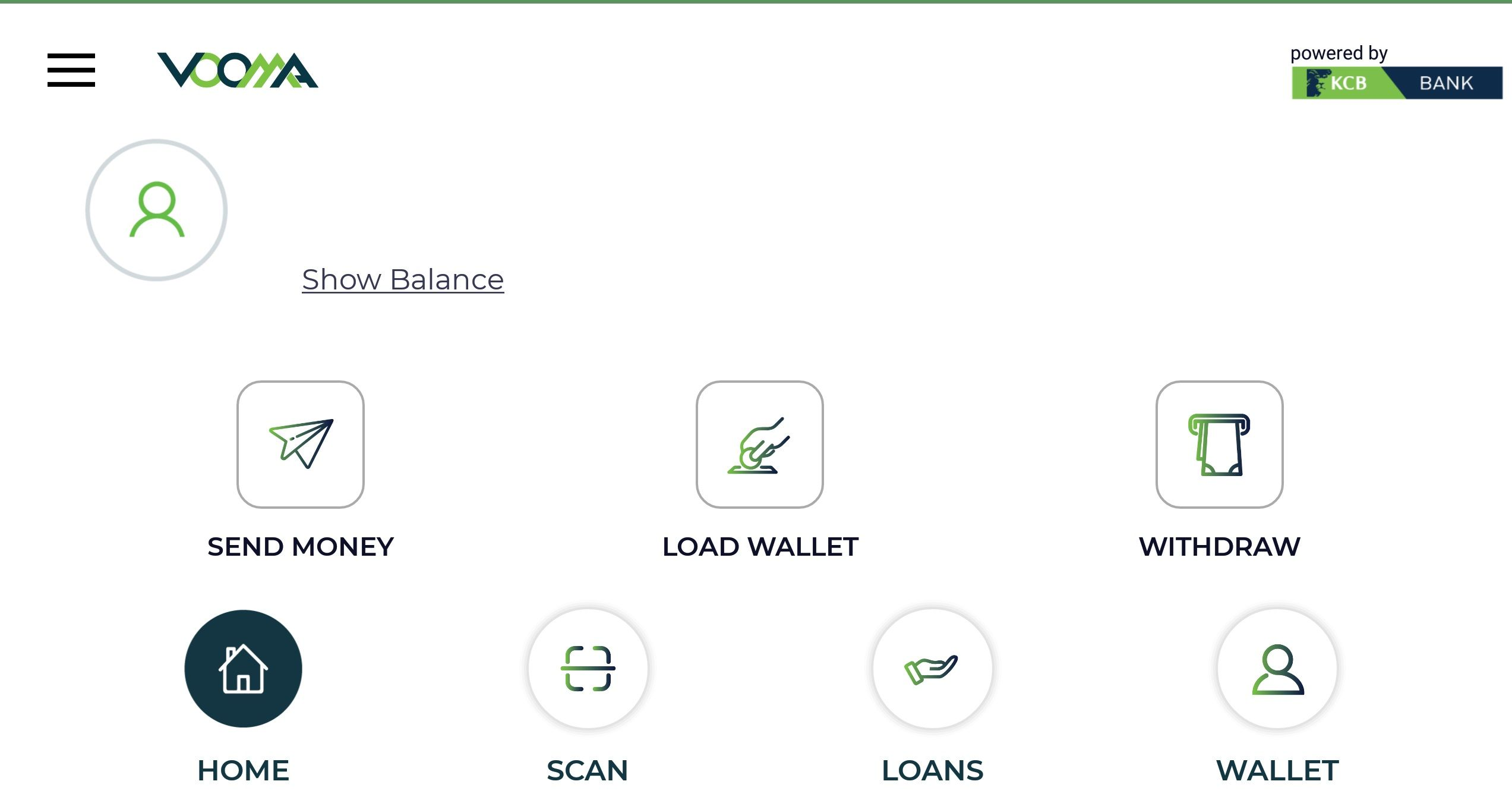 Vooma App by KCB How it works, Loan Mpesa Withdrawal