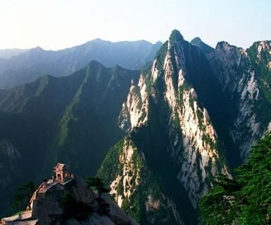 Huashan Mountain tourism Sacred Mountains of the first alpine