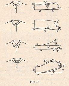 be196b15033 воротник стойка выкройка - Поиск в Google
