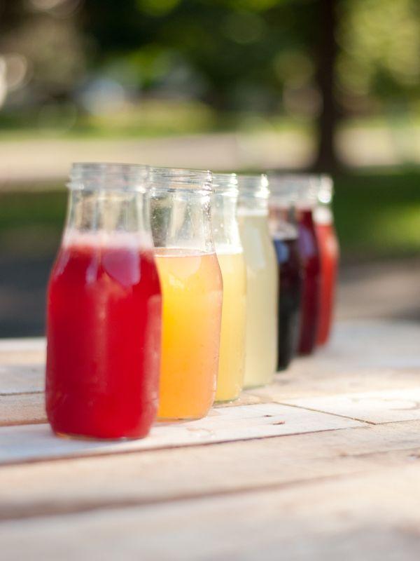 DIY Fruit Simple Syrups: Use syrups with club soda, lemonade, iced tea, hot tea, or water.