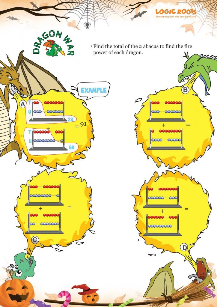 10 Halloween Math Printables You Must Have | Halloween math ...